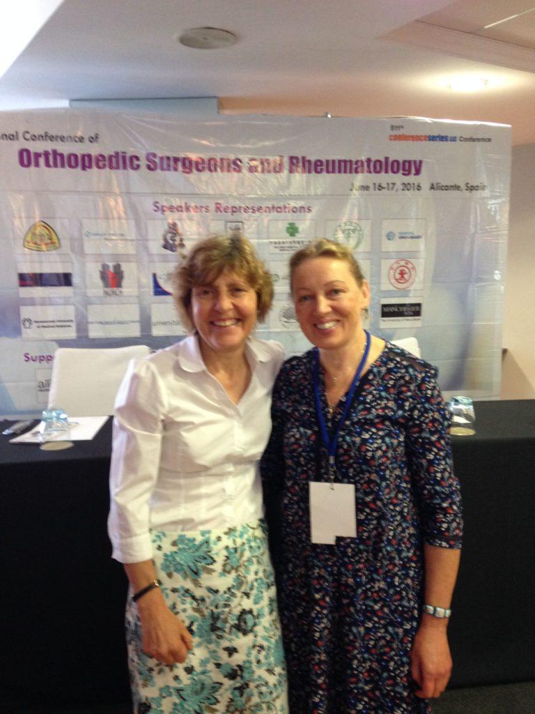 Dr Diana Hodgins and Yelena Walters